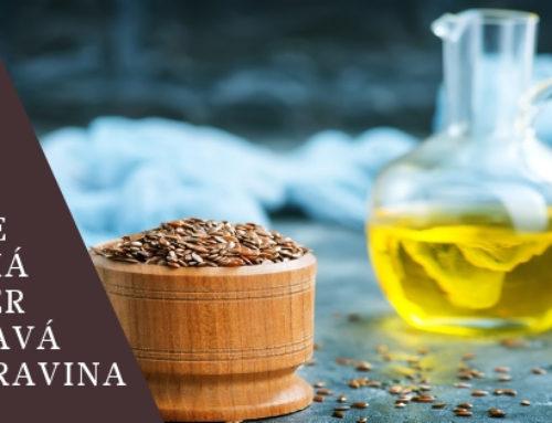 Lněný olej a naše zdraví